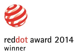 RED DOT 2014 winner
